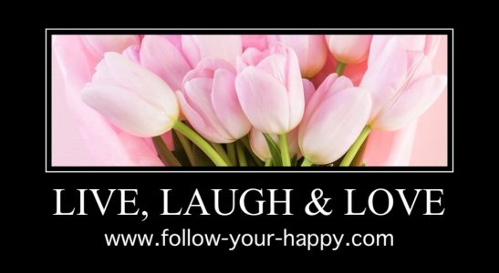 Follow your happy!